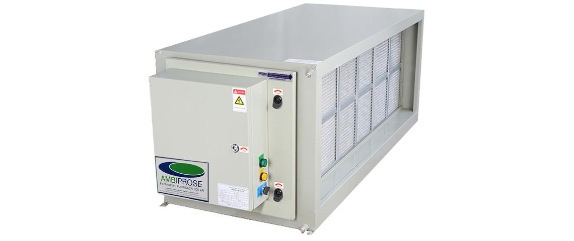 Unidade de Filtragem Eletroestática VH