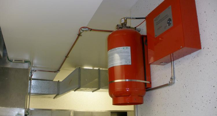 Automatic fire extinguish system